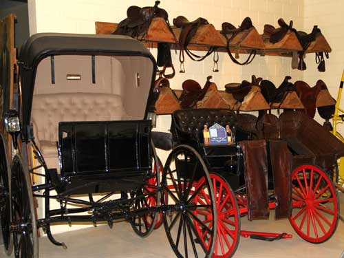 Barn tour - buggy & saddles